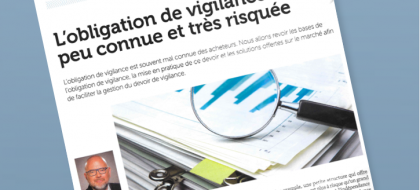 Miniature obligation de vigilance