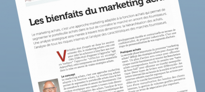 Miniature Les bienfaits du marketing achat